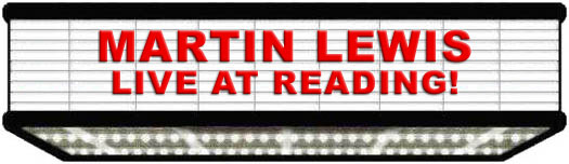 Martin Lewis: Live At Reading!